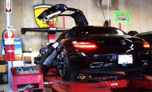 San diego body shop balboa auto body for Mercedes benz wheel alignment specifications